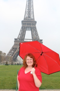 Fun at the Eiffel Tower