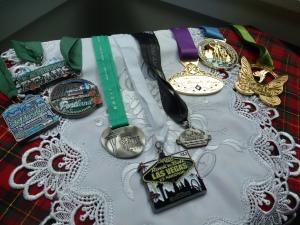 2012 Half Medals