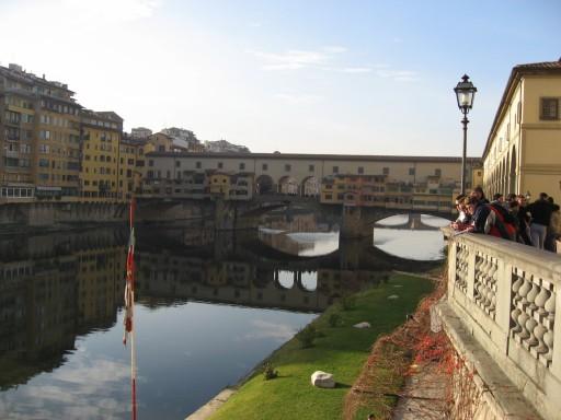 My favorite bridge - Ponte Vecchio in Florence, Italy