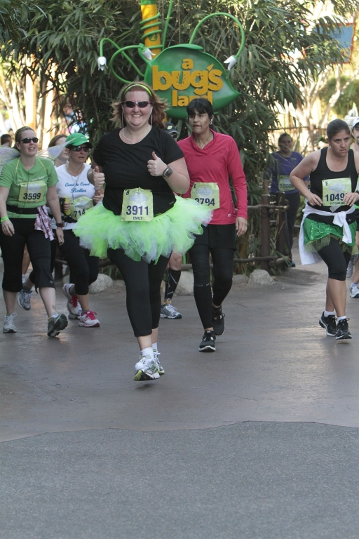 Inaugural Tinker Bell Half - almost done