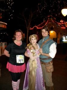 With Rapunzel & Flynn Ryder