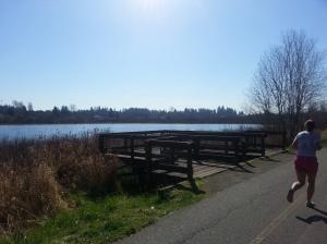 Beautiful day along the path