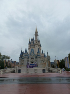 Rainy afternoon at Magic Kingdom