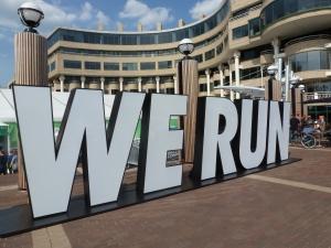 Sign outside expo