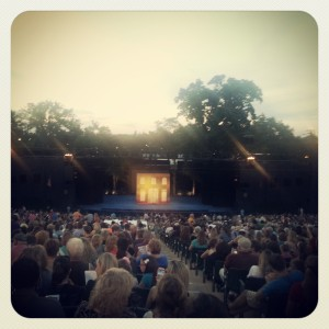 At the Muny
