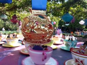 Medal #1 - Disneyland 10K