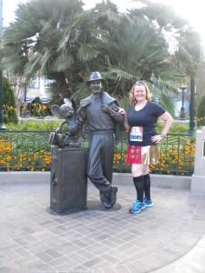 Why hello Walt & Mickey