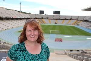Barcelona's Olympic Stadium