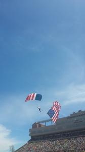 US Flag Parachuter