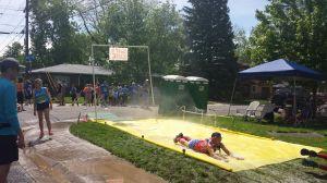 Slip'n'slide (Photo cred: Jessica)