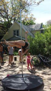 Pole Dancers (photo cred: Jessica)