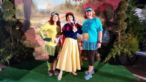 With Snow White