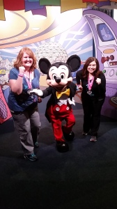 Running with Mickey