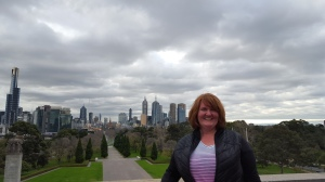 View of Melbourne from Shrine of Remembrance