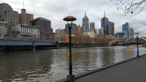 Melbourne, along the river