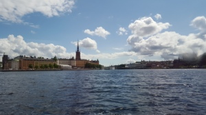 Around Stockholm by boat
