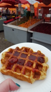 Mmm, waffle