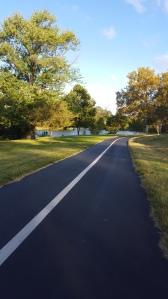 Last run through Forest Park