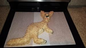 Kangaroo Goodbye Cake